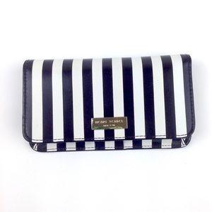 Henri Bendel wallet striped phone black iPhone5
